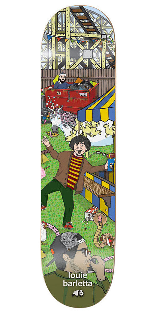 Enjoi Louie Barletta Carnival R7 Skateboard Deck - Multi - 7.75in