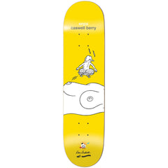 Enjoi Caswell Berry Don't Be a Dick R7 Skateboard Deck - Yellow - 8.5in