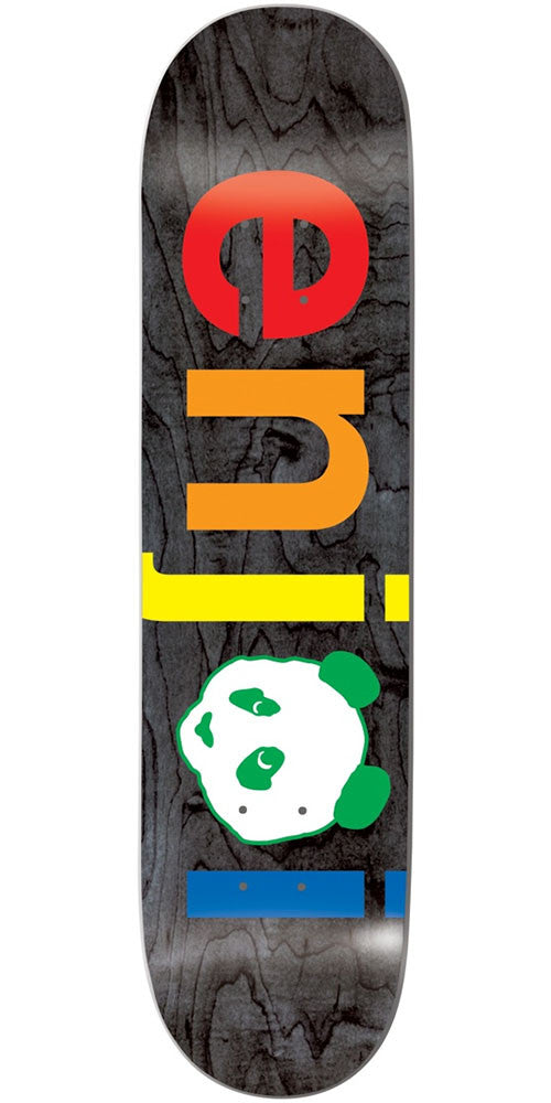 Enjoi Spectrum No Brainer HYB Skateboard Deck - Black - 8.25in