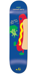 Enjoi Caswell Berry No Veggies IL Skateboard Deck - Blue - 8.0in