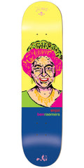 Enjoi Ben Raemers Presidents R7 Skateboard Deck - Yellow/Blue - 8.25in