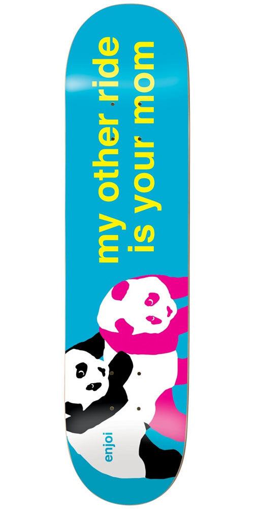 Enjoi My Other Ride R7 Skateboard Deck - Multi - 8.0in