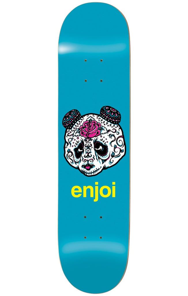Enjoi Quinceanera Panda R7 Skateboard Deck - Blue - 8.5in