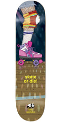 Enjoi Ben Raemers Legs R7 Skateboard Deck - Multi - 8.25in