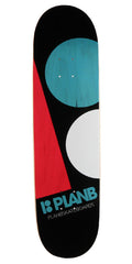 Plan B Massive Skateboard Deck - Black - 8.3