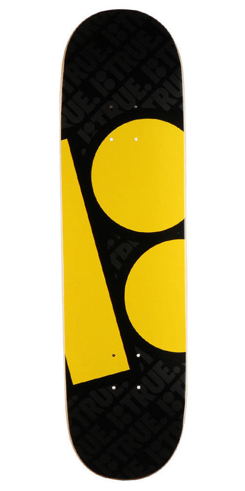 Plan B Massive Skateboard Deck - Black - 8.25