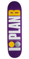Plan B OG Skateboard Deck - Purple - 8.3