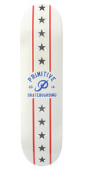 Primitive Dare Devil Skateboard Deck - White - 8.5
