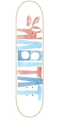 Habitat Artisan Apex Small Skateboard Deck 8.18 - White