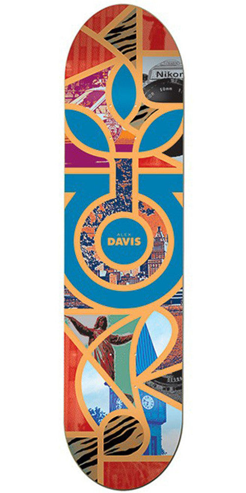 Habitat Alex Davis Melange Skateboard Deck - Multi - 8.25in