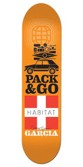 Habitat Danny Garcia Pack & Go Skateboard Deck - Orange - 8.0in
