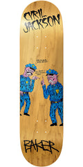 Baker Cyril Jackson Chocolate Donut Skateboard Deck - Natural - 7.875in