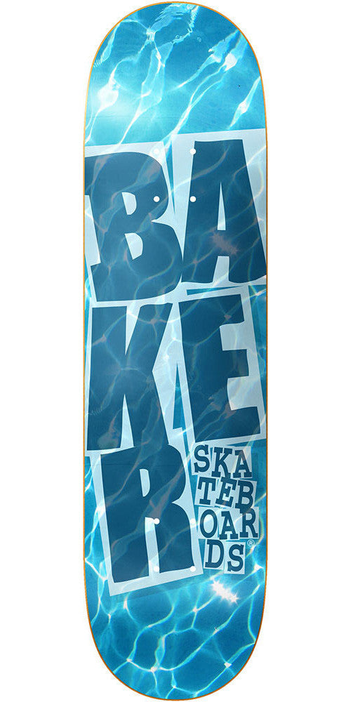 Baker Stacked Underwater Skateboard Deck - Blue - 8.475in