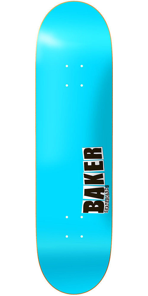 Baker Jbone Skateboard Deck - Cyan - 8.125in