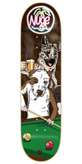 Baker Don Nguyen Pool Dogs Skateboard Deck - Brown - 8.0in