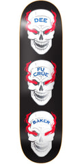 Baker DO Blood Shot Skateboard Deck - Black - 8.475in