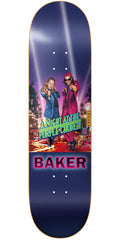 Baker JF RH Purple Church Skateboard Deck - Purple - 8.25in