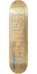 Baker AR Reynolds Logo Skateboard Deck - Blue - 8.5in