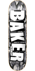 Baker BH Brand Name Skateboard Deck - Stone Camo - 8.25in