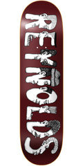 Baker AR Dabble Skateboard Deck - Brown - 7.75in