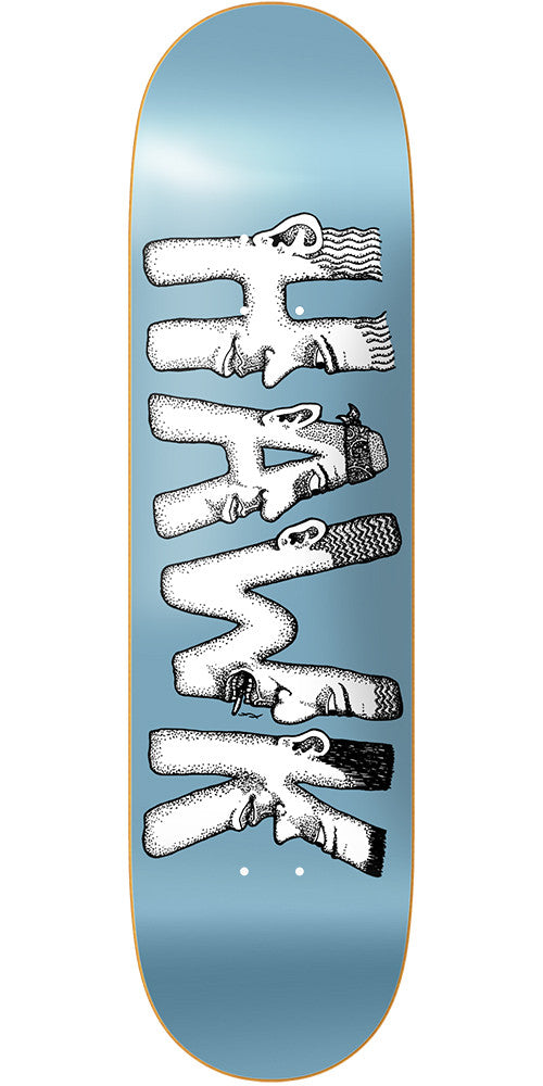 Baker RH Dabble Skateboard Deck - Light Blue - 8.0in