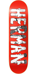 Baker BH Dabble Skateboard Deck - Red - 8.475in