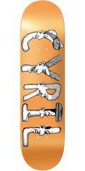 Baker CJ Dabble Skateboard Deck - Orange - 8.25in