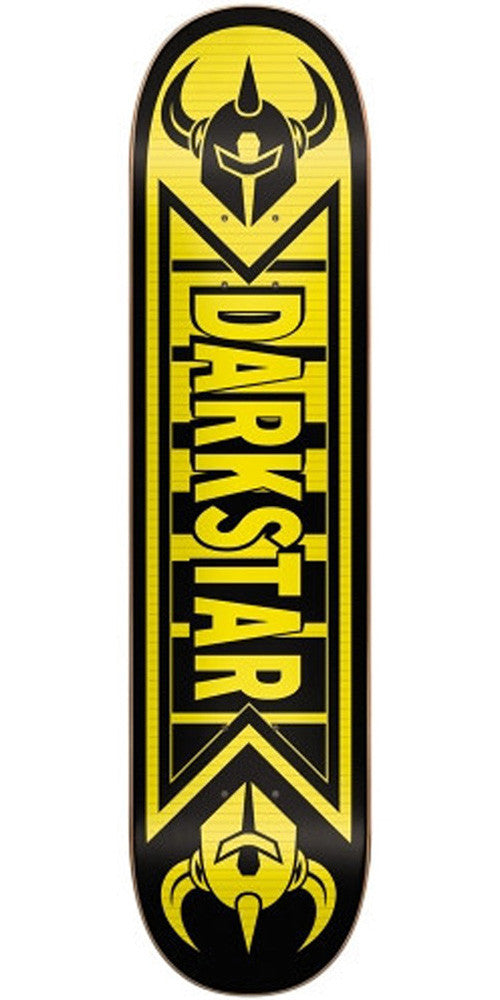 DarkStar Faded SL Skateboard Deck 7.5 - Yellow