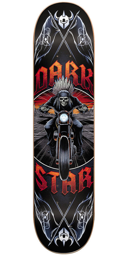 Darkstar Roadie SL Skateboard Deck 8.25 - Red