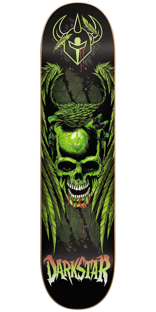 Darkstar Entranced Eagle SL Skateboard Deck 7.9 - Green