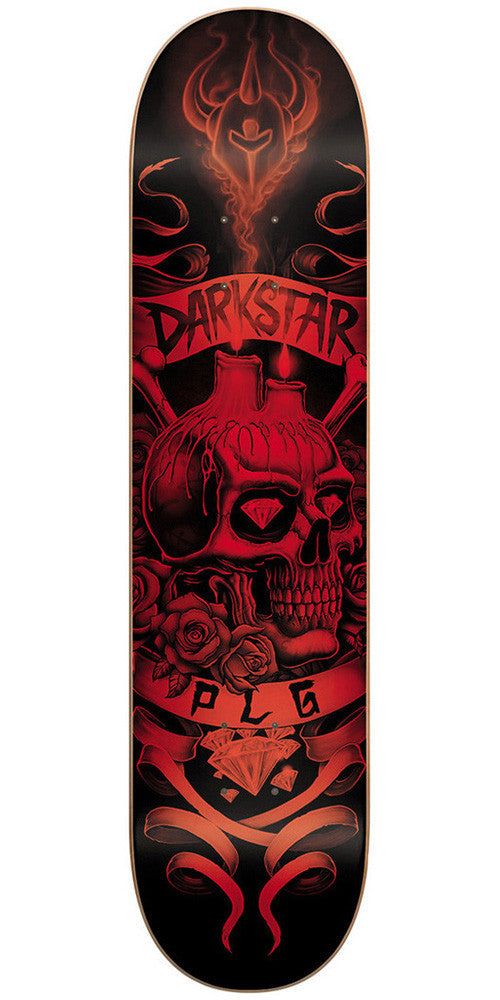 Darkstar Pierre Luc Gagnon Shrine SL Skateboard Deck - Red/Black - 8.38