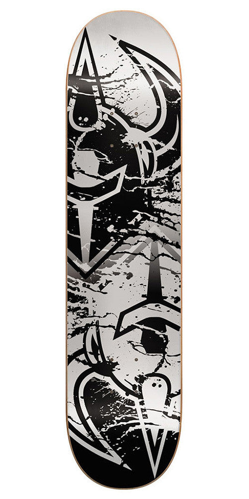 Darkstar Drench SL Skateboard Deck - 8.5 - Silver