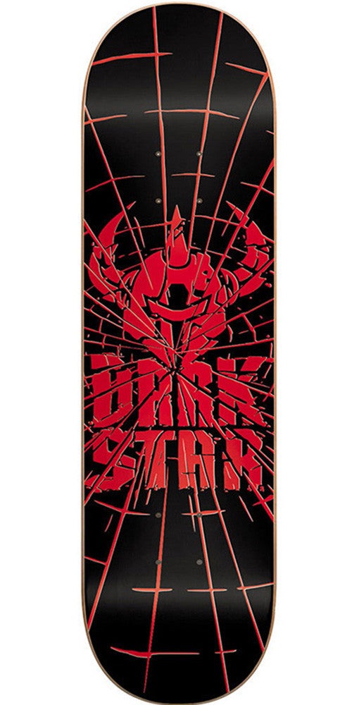 Darkstar Shattered SL Skateboard Deck - 8.0 - Red