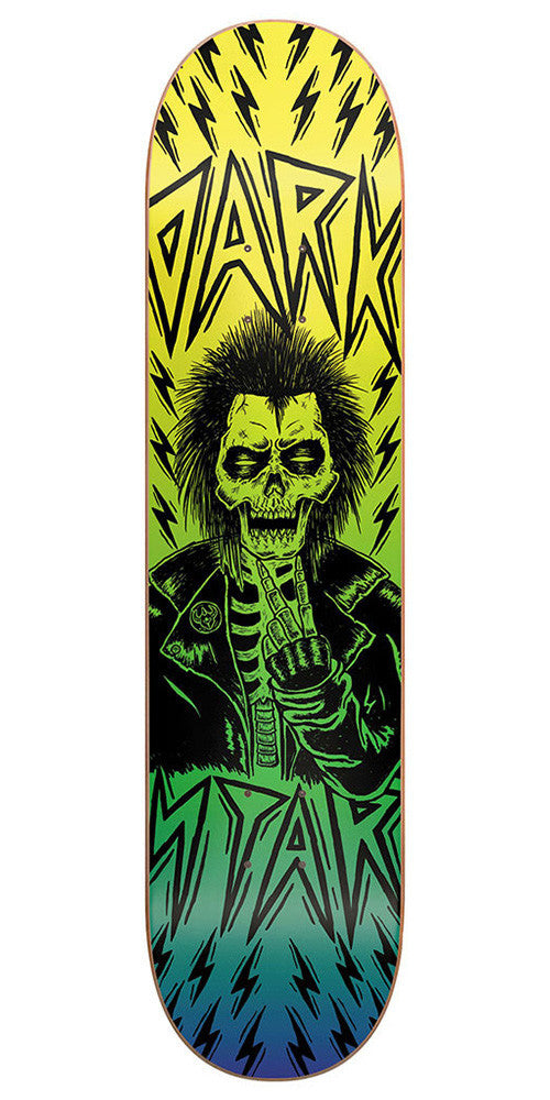 Darkstar Electric SL Skateboard Deck - 8.0 - Yellow