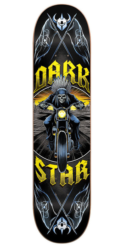 DarkStar Roadie Youth Mid Skateboard Deck - Yellow - 7.5