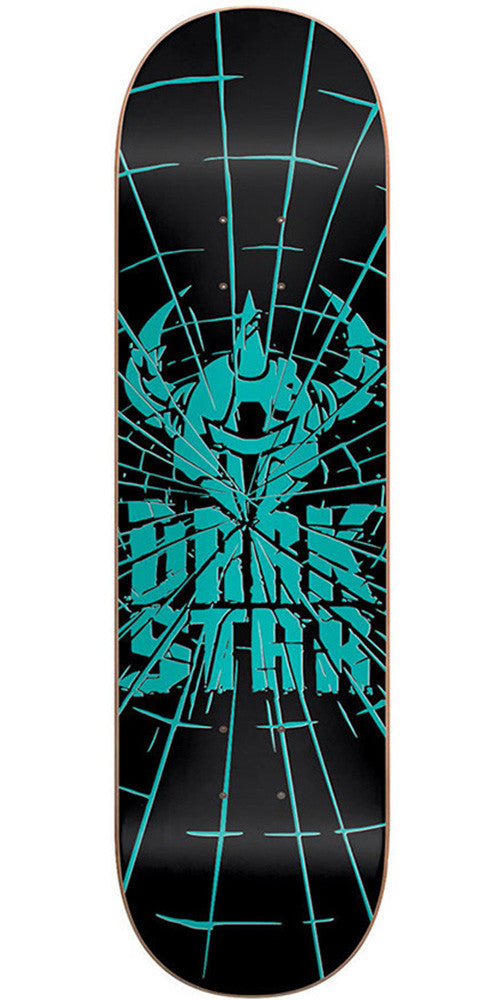 DarkStar Shattered SL Skateboard Deck - Aqua - 8.0