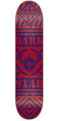 Darkstar Blunt SL Skateboard Deck - Red/Blue - 8.0in