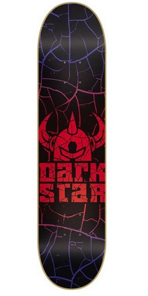 Darkstar Crack SL Skateboard Deck - Red/Blue - 8.0in