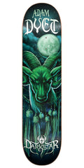 Darkstar Adam Dyet Dream Catcher Series Skateboard Deck - Green - 8.0in