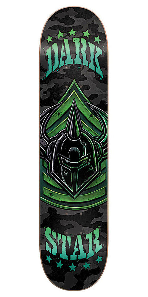 DarkStar Militant SL Skateboard Deck - Green - 8.25in