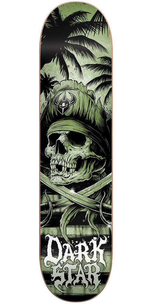 DarkStar Helm HYB Skateboard Deck - Army - 8.0in