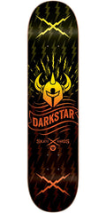 DarkStar Axis RHM Skateboard Deck - Orange Fade - 8.375in