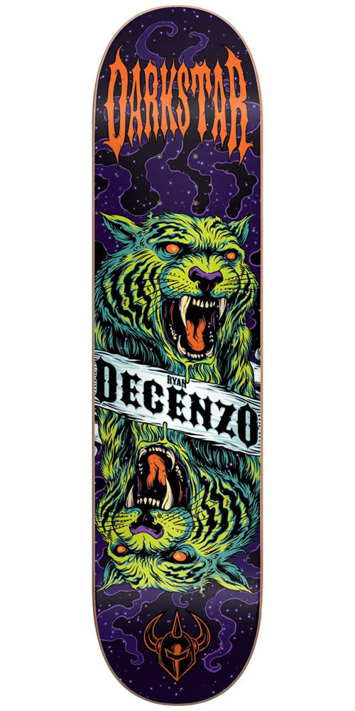 DarkStar Ryan Decenzo Zodiak R7 Skateboard Deck - Multi - 8.125in