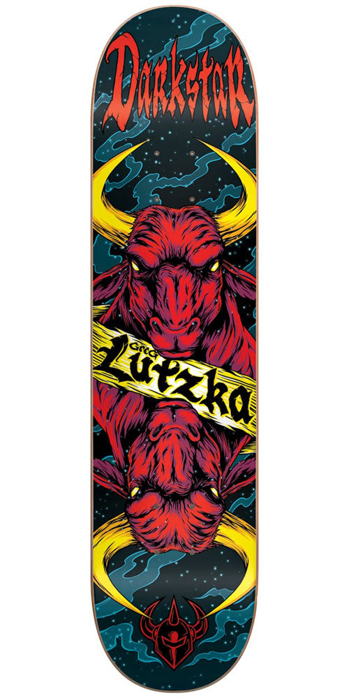 DarkStar Greg Lutzka Zodiak R7 Skateboard Deck - Multi - 8.0in