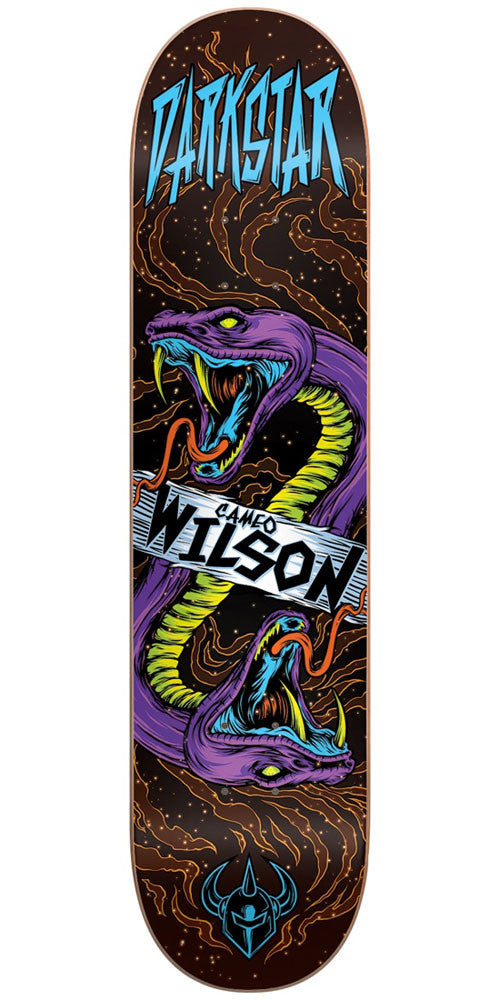 DarkStar Cameo Wilson Zodiak R7 Skateboard Deck - Multi - 8.0in