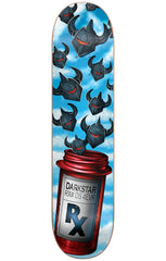 DarkStar 4EVR HYB Skateboard Deck - Light Blue - 8.25in