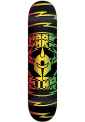 DarkStar Shock V2 RHM Skateboard Deck - Rasta - 8.0in