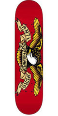 Anti-Hero Classic Eagle Mini Skateboard Deck 7.21 - Red