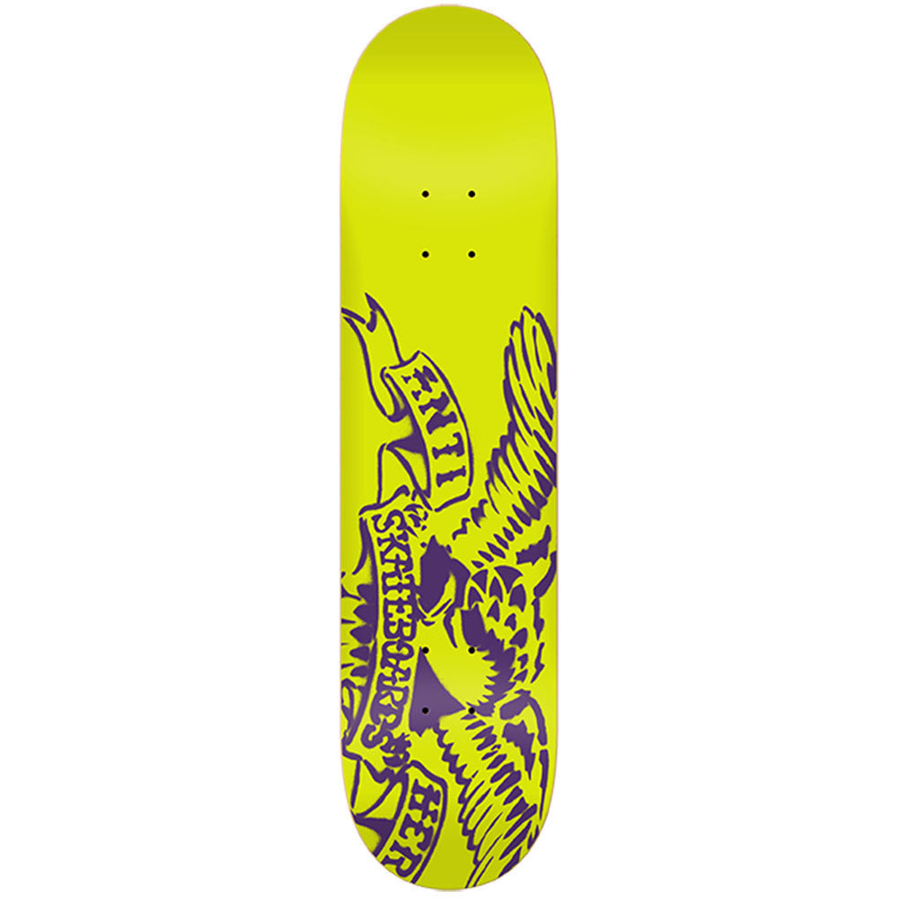 Anti-Hero Spray Eagle SM Skateboard Deck - 7.75 x 31.25 - Yellow