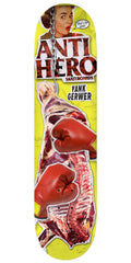 Anti-Hero Gerwer Party Of 1 Skateboard Deck - Yellow - 8.06in x 32.0in